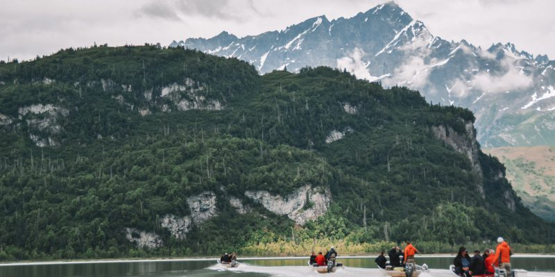 Salmon fishing in Alaska for incentive winners as a reward and recognition experience