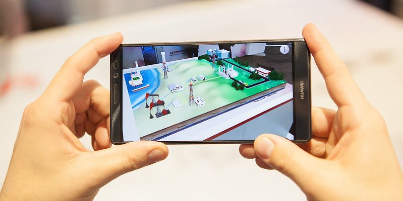 Augmented reality in a conference exhibition setting for guest engagement