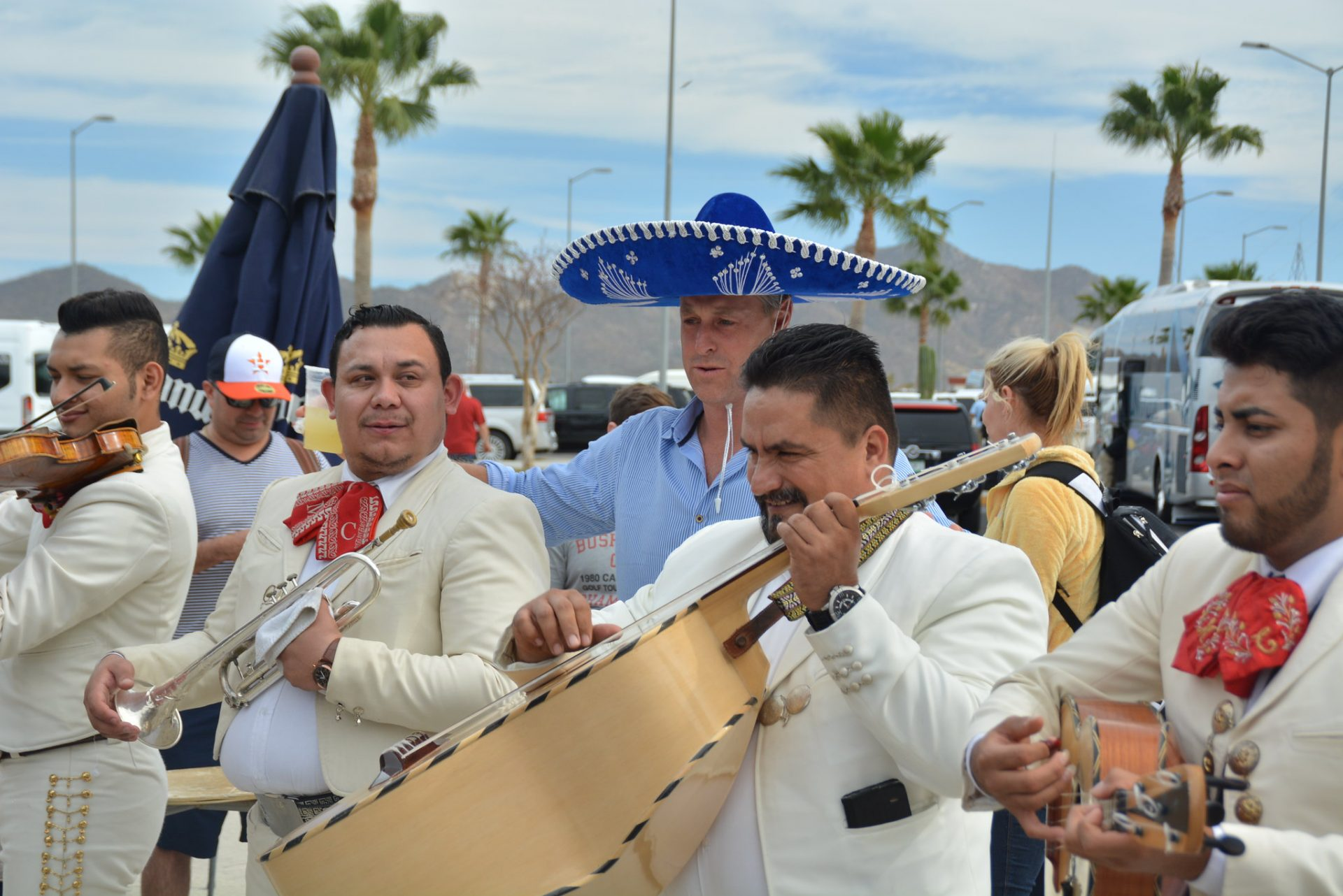 Local sounds of the mariachi entertainers