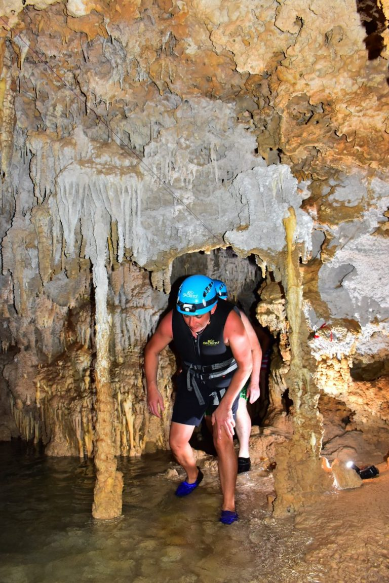 Exploring underground caves cabo, incentive group
