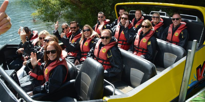 Thrills and spills of jetboat rides