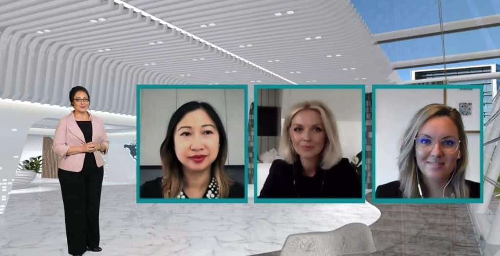 Live virtual panel discussions for maximum impact